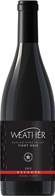 2012 RESERVE Weather Pinot Noir Russian River